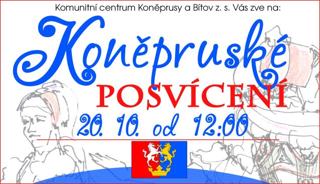 Koněpruské posvícení – 20.10. od 12:00