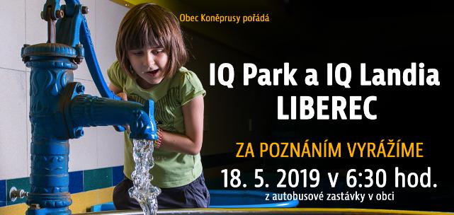 ZRUŠENÍ výletu do IQ Park a IQ Landina Liberec – 18.5.