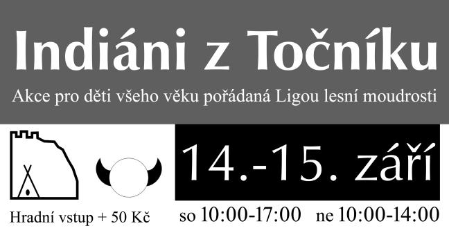 Indiáni z Točníku 14. – 15.9.