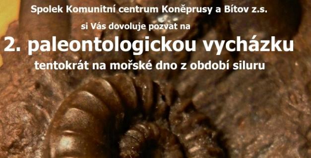2. paleontologická  vycházka 21. 9.