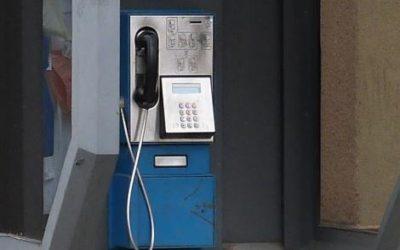 Zrušení veřejného telefonního automatu